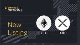 Binance запускает опционы на Ethereum и XRP